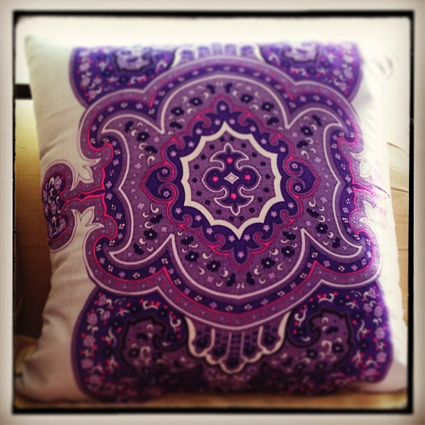 My first pillow! Very impressed with myself!