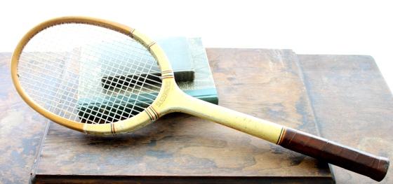 Vintage Slazengers Coronation Wooden Tennis Racke