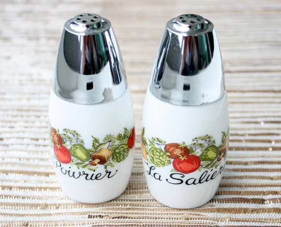 Gemco salt and pepper shakers