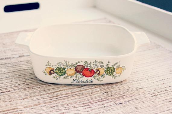 1 Quart Casserole Dish