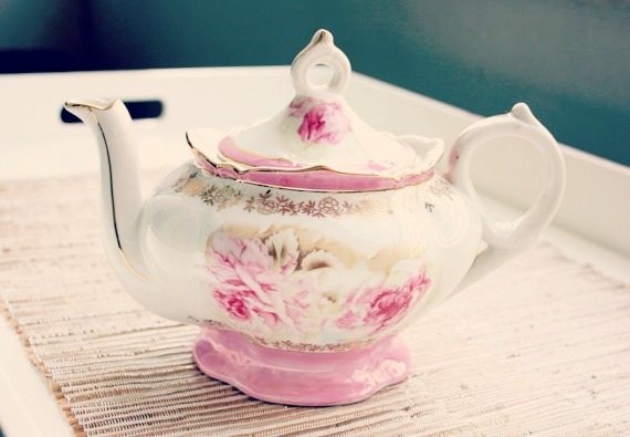 Lefton China Teapot