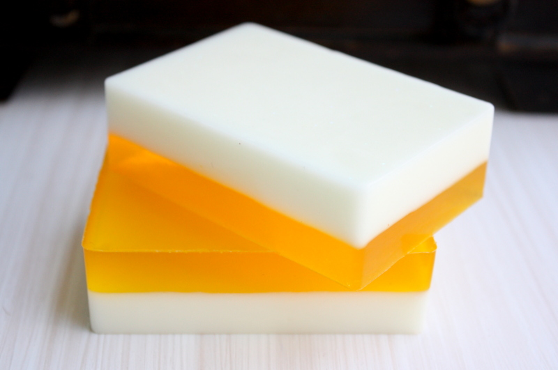 Patchouli Grapefruit Mangosteen Goat's Milk Glycerin Bar Of Soap
