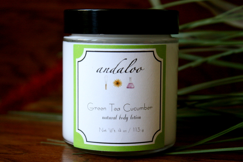 Green Tea Cucumber Body Lotion