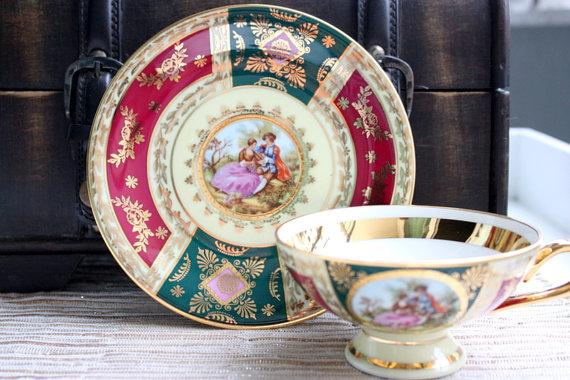 JK Decor Carlsbad China Fragonard Lovers
