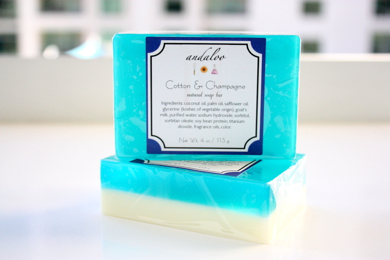 Cotton & Champagne Goat Milk Glycerin Bar Of Soap