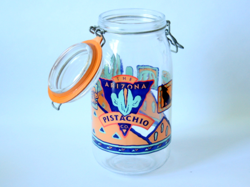 Vintage French 2L Canning Jar From Arcoroc France The Arizona Pistachio Co.